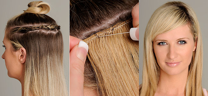 Are hair extensions bad for our hair hairfashionhealthlife advertisements pmusecretfo Choice Image